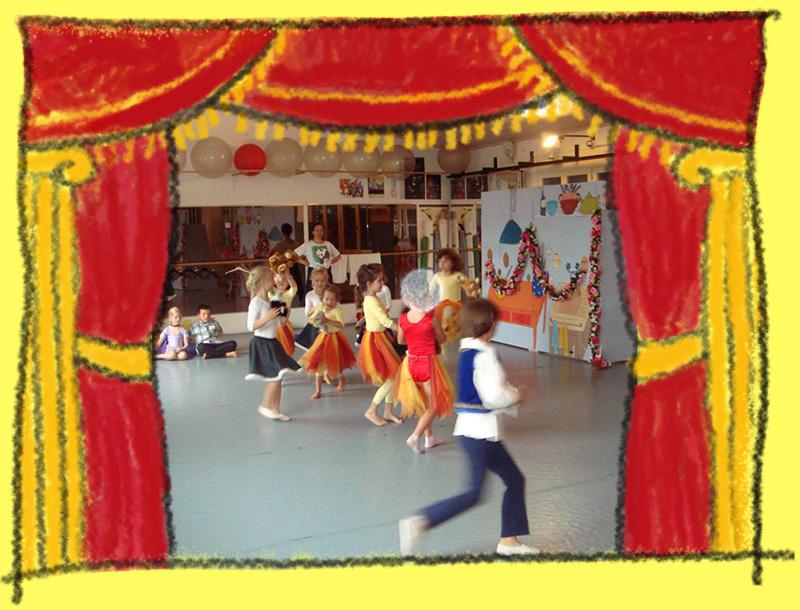 Barbara Trunz - Tanzunterricht ab 3 Jahren
